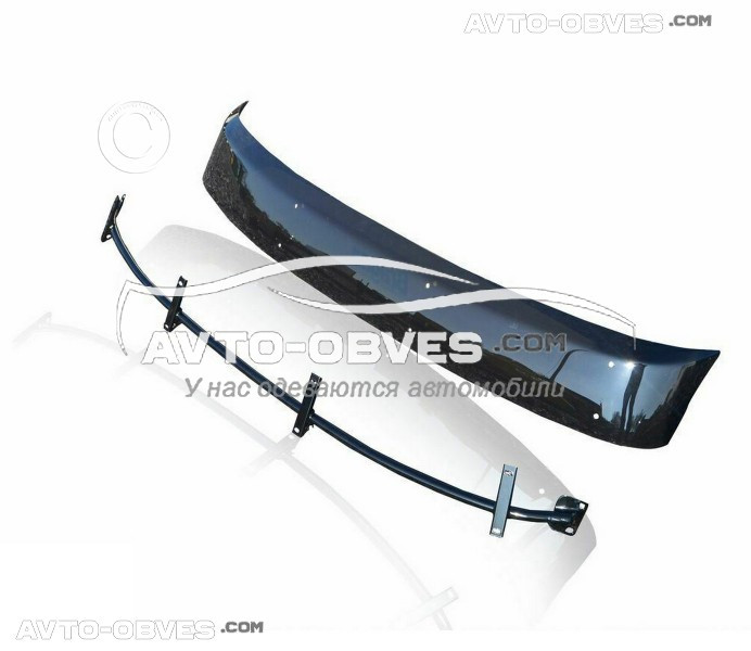 Козырек ветрового стекла солнцезащитный для Фольцваген T4 (установка на кронштейны)