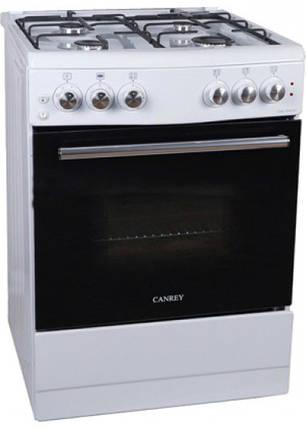 Плита комбинированная Canrey CGEL 6040 GT (white), фото 2