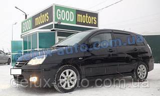 Ветровики Cobra Tuning на авто Suzuki Liana Wagon I 2001 Дефлекторы окон Кобра для Cузуки Лиана универсал 1