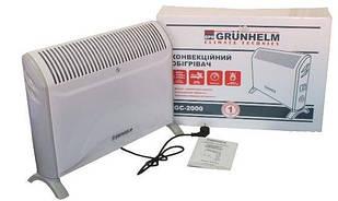Конвектор електр. GRUNHELM GC-2000 2.0кВт