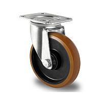 Поворотное колесо диаметр 100 мм полиамид/полиуретан шариковый подшипник нагрузка 200 кг
