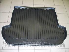 Subaru Outback 2010-14 коврик резиновый в багажник новый оригинал