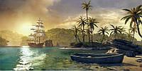 Фотообои Prestige Тропическая бухта № 36- 392*204 см
