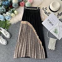Удлиненная юбка гофре, 5 расцветок, фото 1