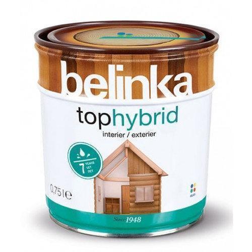 Лазурное покрытие для дерева BELINKA TOPHYBRID (тёмный орех) 0,75 л