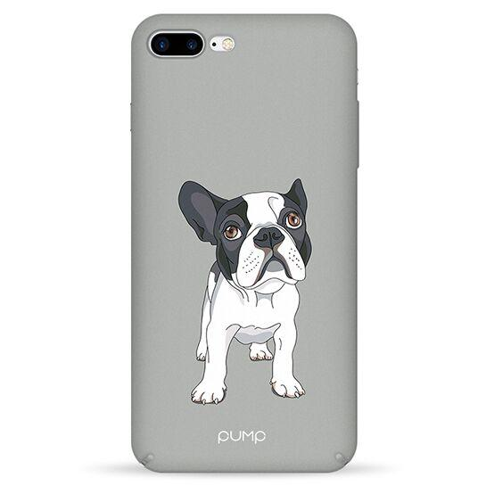 Pump Tender Touch Case чехол для iPhone 7/8 plus Mops On Gray