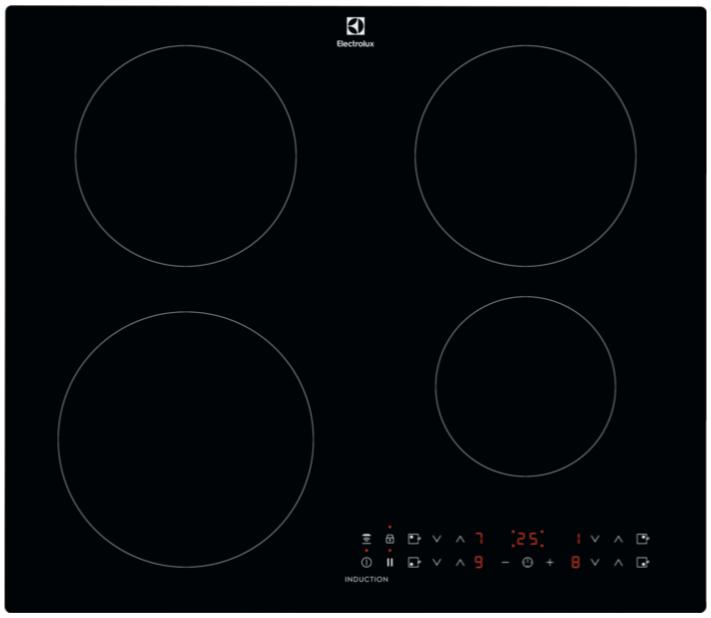 Индукционная варочная плита Electrolux CIR60430CB цвет - черный