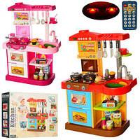 Кухня WD-P16-R16 высота 75 см плита,духовка,зв,св,посуда,продукты