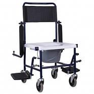 Кресло-каталка с санитарным оснащением, OSD-MOD-JBS367A, фото 3