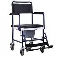 Кресло-каталка с санитарным оснащением, OSD-MOD-JBS367A, фото 4