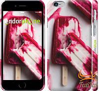 """Тонкий чехол для iPhone 6 """" Мороженое """""""