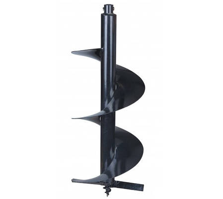 Бур для мотобура 250мм, 80см (шнек), фото 2