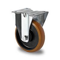 Неповоротное колесо диаметр 100 мм полиамид/полиуретан шариковый подшипник нагрузка 200 кг