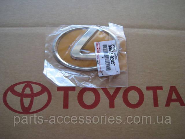 Lexus IS Значок эмблема передняя в решётку радиатоа новая оригинал 2009-13