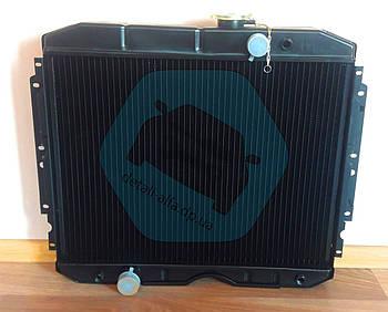 Радиатор водяного охлаждения ГАЗ 3307 (3-х рядный) медн.  (арт. 3307-1301010-70С)