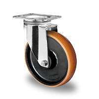 Поворотное колесо диаметр 125 мм полиамид/полиуретан шариковый подшипник нагрузка 300 кг