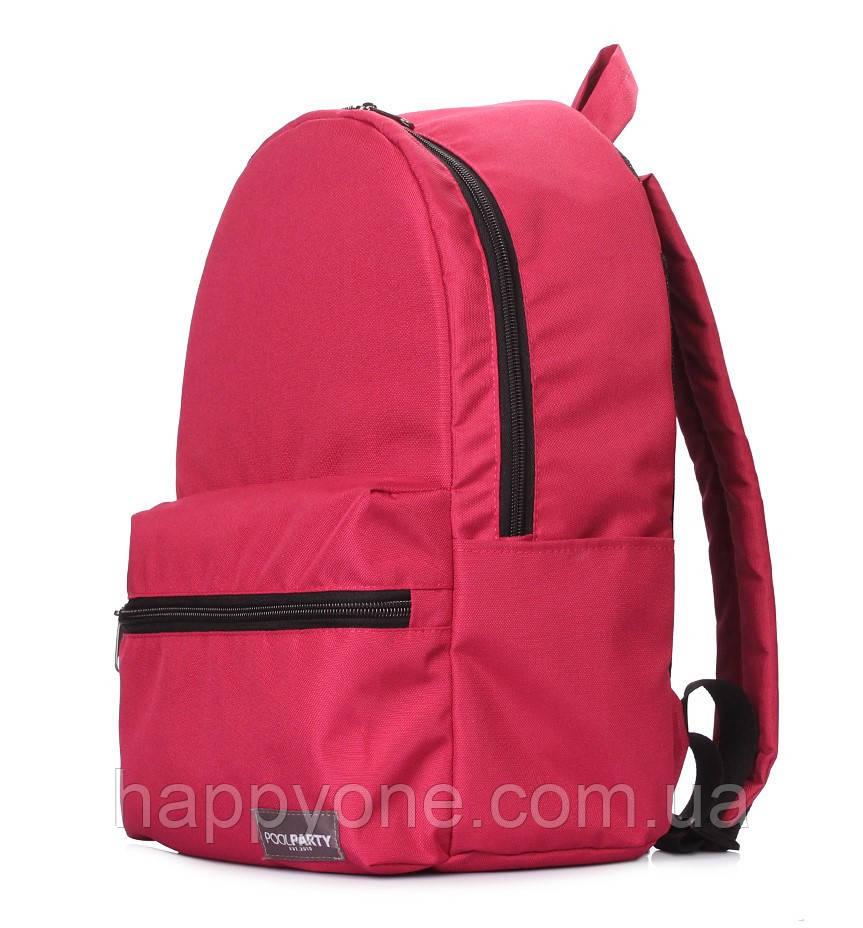 Городской рюкзак Hike (бордовый)