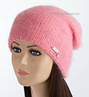 Женская шапка-колпак Танго люрекс персик