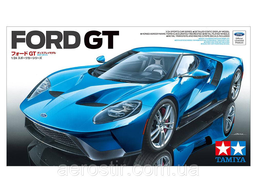 Ford GT 2017 1/24 Tamiya 24346