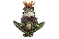 Декоративная фигура-подсвечник Принц Лягушенок 18см