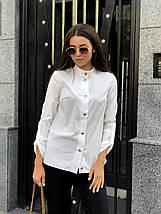 Стильная женская блуза с регулируемыми рукавами /разные цвета, 42-46, ft-1041/, фото 3