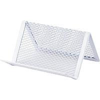 "Подставка для визиток ""Axent"" металл белая (95*80*60) 2114-21-А"