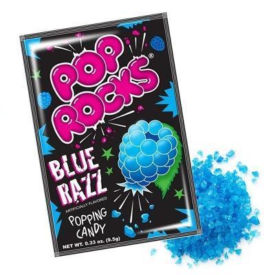 Шипучая карамель Pop Rocks Blue Razz