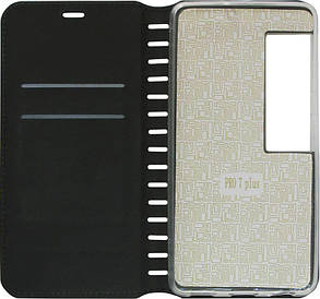 Чехол-книжка Meizu Pro 7 Plus black Leather Folio, фото 2