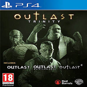 Outlast Trinity RUS PS4 (Б/В)