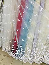 Тюль фатин бабочки, фото 3