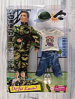 Кукла Defa Парень в армии с нарядом  (8412)