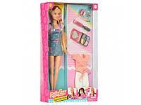 Кукла Defaс нарядом и косметикой (8416-BF)