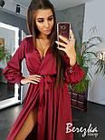 Женское элегантное платье в пол на запах расцветках), фото 2