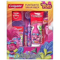 Подарочный набор Colgate Kids Trolls Колгейт Тролли Щетка Паста США