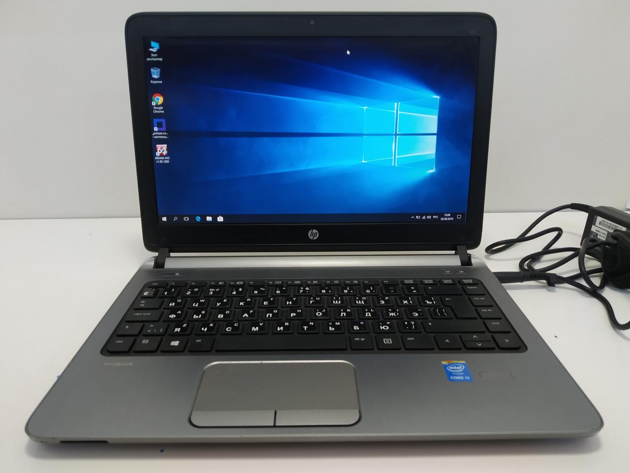 Ультрабук ProBook 430 G2 Intel Core I3 4030U 1.9, 4 Гб DDR3, SSD 256 GB MLC, Батарея до 6 часов