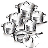 Набор посуды Blaumann Gourmet Line 12 предметов BL-1410
