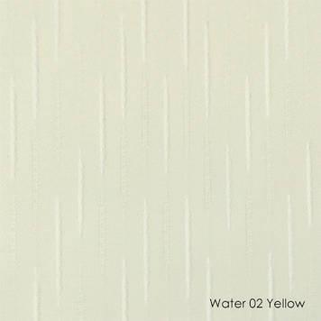 Вертикальні жалюзі Water-02 yellow