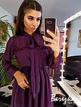 Женское платье в горошек с рюшами (в расцветках), фото 4