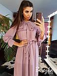 Женское платье в горошек с рюшами (в расцветках), фото 6