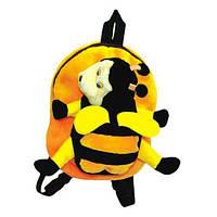 Рюкзак детский пчела 31см (171)