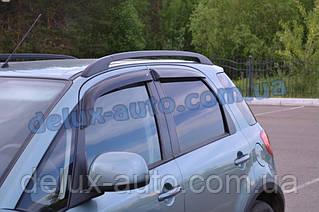 Ветровики Cobra Tuning на авто Suzuki SХ4 I Hb 5d 2006 Дефлекторы окон Кобра для Cузуки СХ4 1 хэтчбек 5д 2006