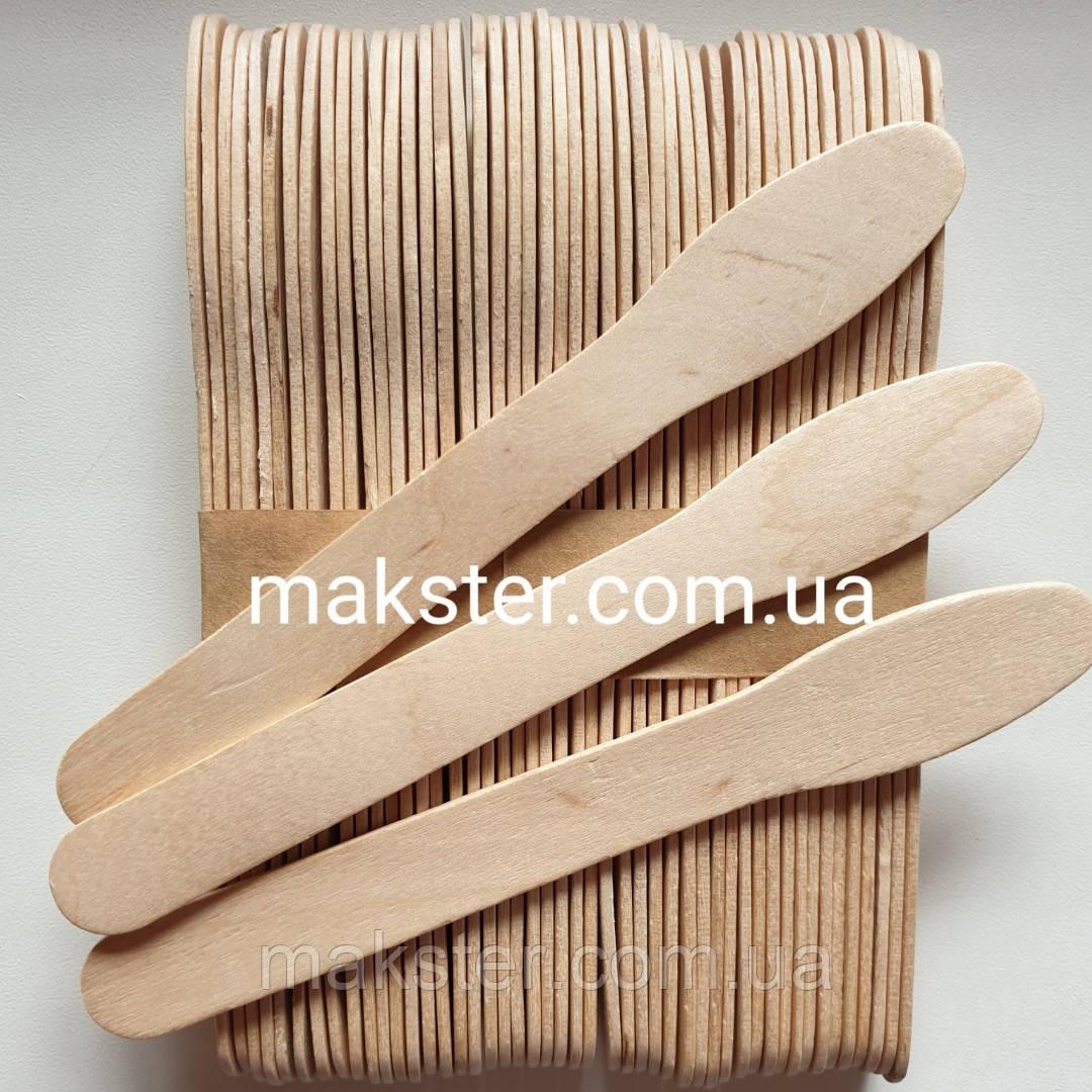 Шпатели деревянные  в форме ложки (50 шт)