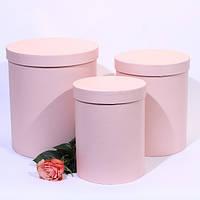 Коробка круглая для цветов 3 шт.
