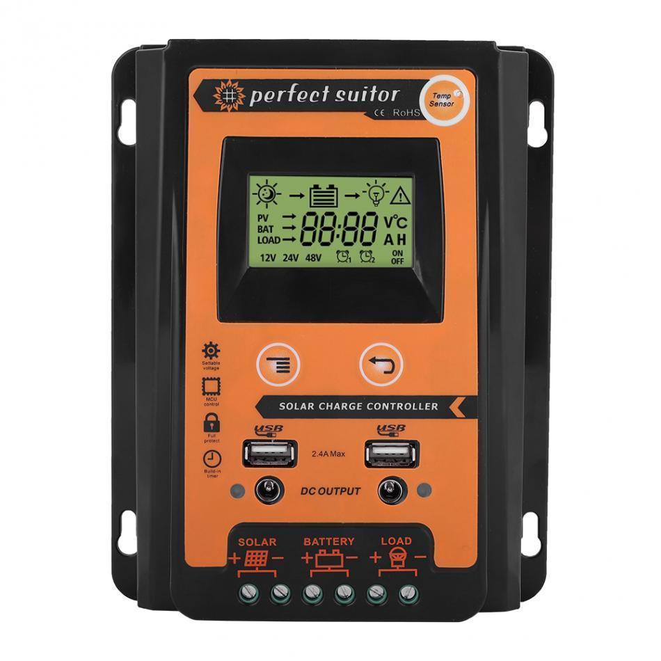 Контролер заряду сонячних батарей 30А 12 / 24В