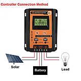Контролер заряду сонячних батарей 30А 12 / 24В, фото 2