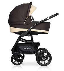 Детская коляска универсальная 2 в 1 Riko Basic Alfa Ecco 08 (Рико Альфа, Польша)