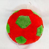 Мягкая игрушка Zolushka Мячик 21см красно-зеленый (130-7)