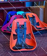 Легковесное Детское переднее велокресло Mini, прочный пластик, модный дизайн