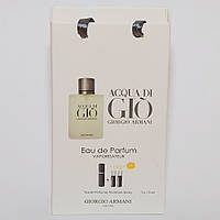 Giorgio Armani Acqua di Gio мини парфюмерия в подарочной упаковке 3х15ml DIZ