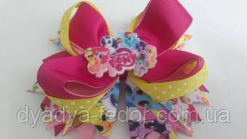 Бантик Fashion Україна m251 Рожев. Little Pony